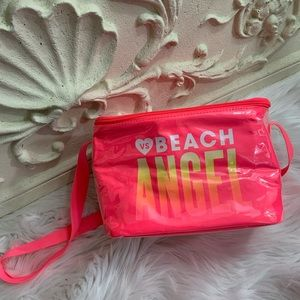Victoria's Secret Pink Neon Beach Cooler Lunch Bag